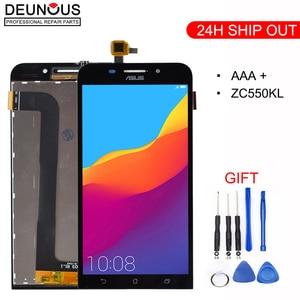 Original For ASUS Zenfone Max LCD Display Dual SIM 4G LTE Display For ASUS Zenfone Max Display Touch Screen ZC550KL Z010DA