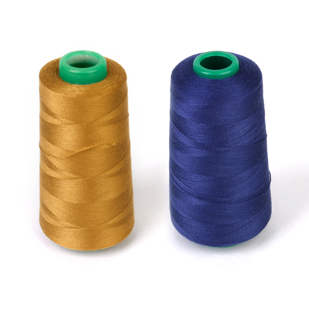 2000M Polyester THREAD Upholstry Jeans Denim Button Sewing Craft gift