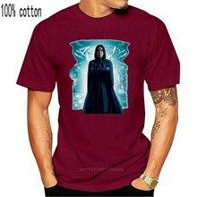Alan Rickman Severus Snape Blue Designer Summer Short Sleeve T Shirt Breathable Tee Shirt