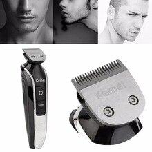 hot High Quality Hair Clipper Razor Kemei 5 in 1 Electric Beard Cutter 360 Degree Hair Clipper Trimmer Shaving Haircut Tool