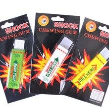Электрическая Шокирующая ручная жевательная резинка шокер шутка игрушка шутка смешная новинка игрушки анти-стресс шоковые игрушки