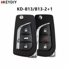 5 개/몫, KEYDIY KD900 B 시리즈 B13/B13 2 + 1 자동차 키 도요타 스타일 KD X2/KD MINI 키 프로그래머