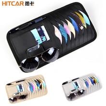 Clips Wallet Card-Organizer Sunglasses Storage-Media-Case Dvd-Holder-Disc Sleeve Sun-Visor