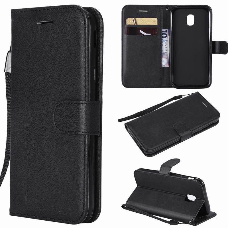 Чехол-бумажник для Samsung J7, J3, J5 2017 Pro, кожаный чехол-книжка для Samsung J7 Pro, J730, J530, J330