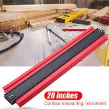 5/6/10/20 Polegada perfil plástico copiar calibre de contorno duplicador padrão madeira ferramenta marcação tiling laminado telhas ferramenta geral