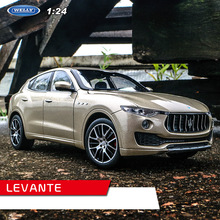 welly 1:24 Levante Maserati  levante car alloy model simulation decoration collection gift toy Die casting boy