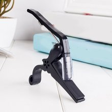 цены Portable Size Aluminum Alloy Guitar Tuner Clamp Professional Key Trigger Capo for Acoustic Electric Musical Instruments