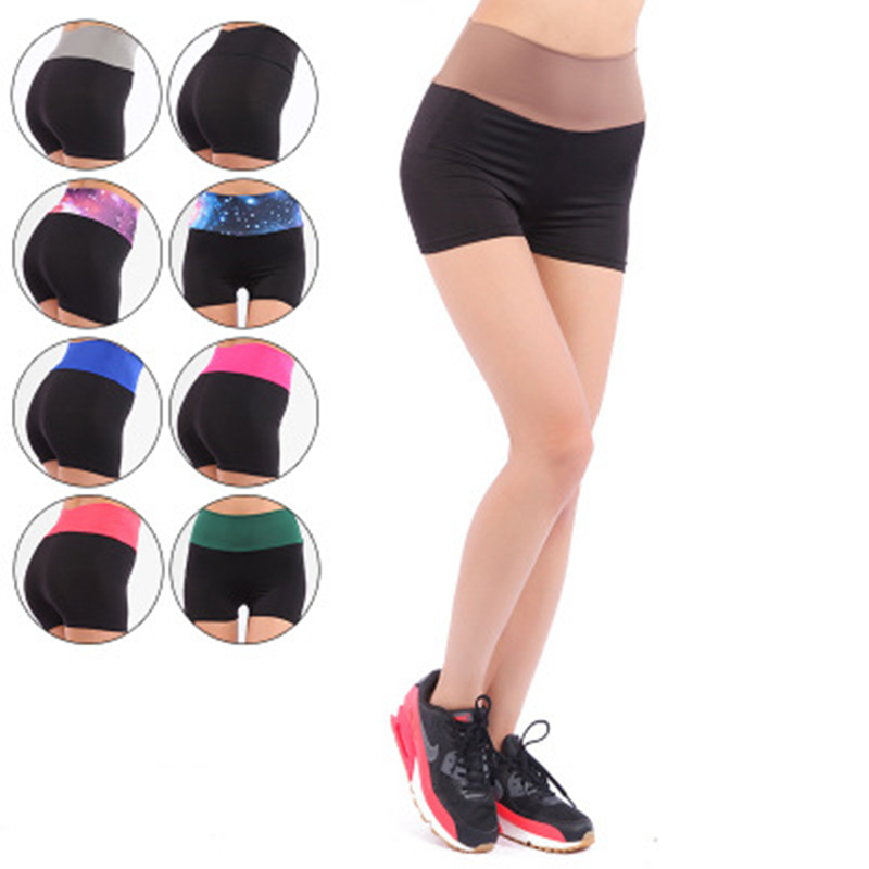Women Sports Yoga Shorts Workout Fitness Female Running Sport Shorts Cotton High Waist Gym Cycling Sport Short
