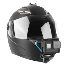 Adjustable Head Vented Helmet Strap Mount for Mobius ActionCam Sports Camera Video Helmet Mount Bicycle Holder