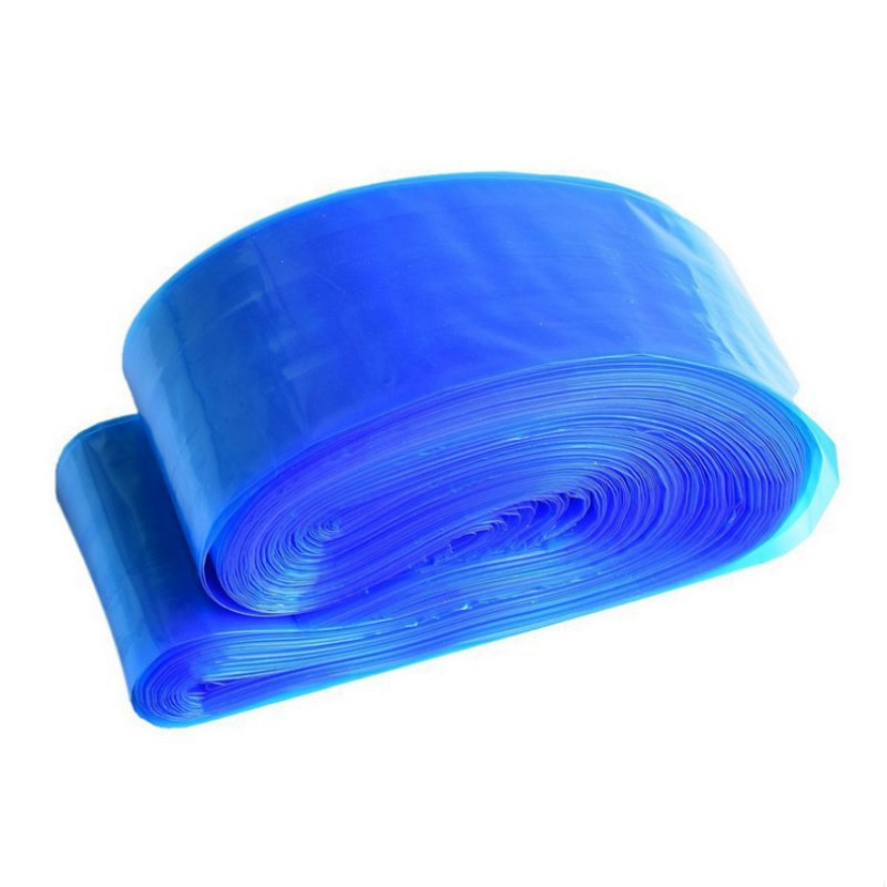 100Pcs  Disposable Plastic Blue Tattoo Clip Cord Sleeves Cover Bag Professional Tattoo Accessory For Tattoo Machine Supply