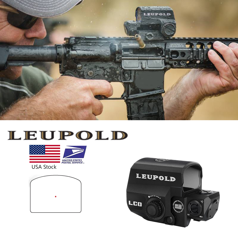 LCO Red Dot Sight Holographic Sight Tactical Riflescope Fits Any 20mm Rail Mount Hunting Scopes Reflex Sight-in Riflescopes from Sports & Entertainment