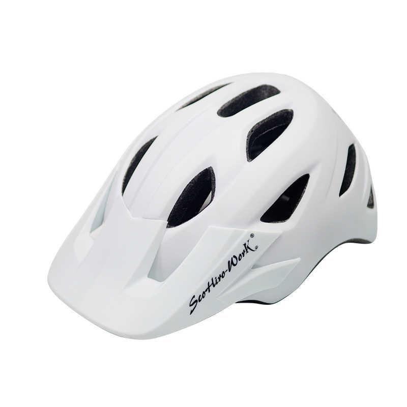 الدراجات خوذة مع قناع خفيفة MTB الدراجة الطريق EPS الخوذ دراجة جبلية سلامة تكاملي العفن غطاء رأس كاسكو BC0081