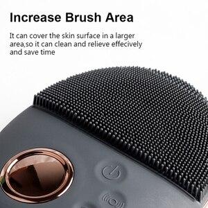 Image 3 - Gesichts Reinigung Pinsel Ultraschall Gesicht Reinigung Pinsel Elactric Drahtlose gesichts pinsel Haut Gesicht Massager