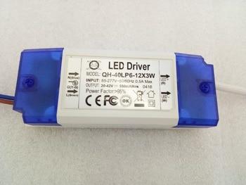 10pcs DC 20-42V 6-12x3w 950ma 18W 21W 30W 36W Power Supply Floodlight LED Downlight Ceiling Ligh Driver Lighting Transformer