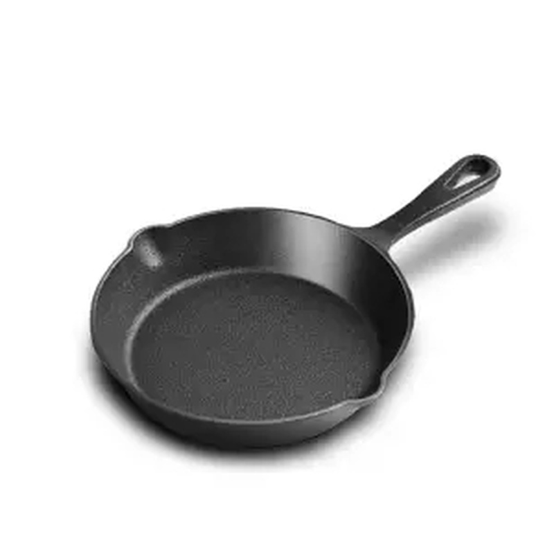 Cast Iron Pan Non-stick Steak Frying Pan Home Pig Iron Omelette Pot Uncoated Gas Cooker Universal Frying Pan Cast Iron Skillet