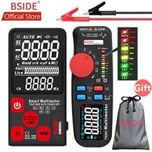 купить BSIDE ADM92CL PRO Color LCD Digital Multimeter 6000 Counts TRMS Auto-Range Voltage Amp Ohm Hz Cap Temp Diode Continuity Tester по цене 1649.29 рублей