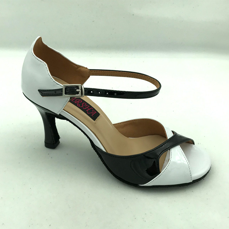 Fashional  Comfortable Latin Dance Shoes Ballroom Salsa Dancing Shoes Tango Shoes For Women Shpping Free 6226B-BWP