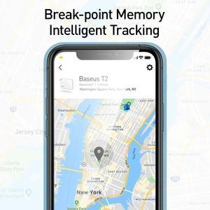 Image 4 - Baseusワイヤレススマート失われたアラームトラッカーキーファインダー子バッグ財布ファインダーアプリgps記録アンチロストアラームタグ