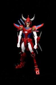 Image 5 - Figuras de acción de DATONG, modelo de ensamblaje de guerreros de Ronin, Yoroiden, Samurai Trooper, Flame of God, Ryo
