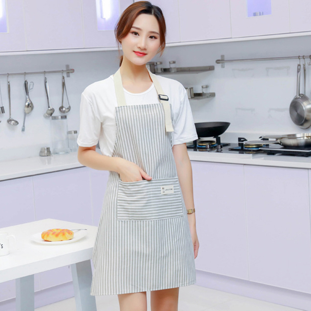 Cotton Linen Printed Sleevelet House Cleaning Home Kitchen Cook Tool Anti-DirtyD