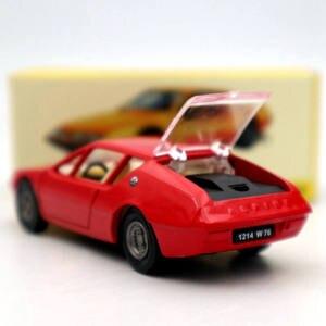 Image 3 - אטלס 1:43 Dinky צעצועי 1411 עבור ALPINE רנו A310 אדום Diecast מודלים אוסף אוטומטי רכב