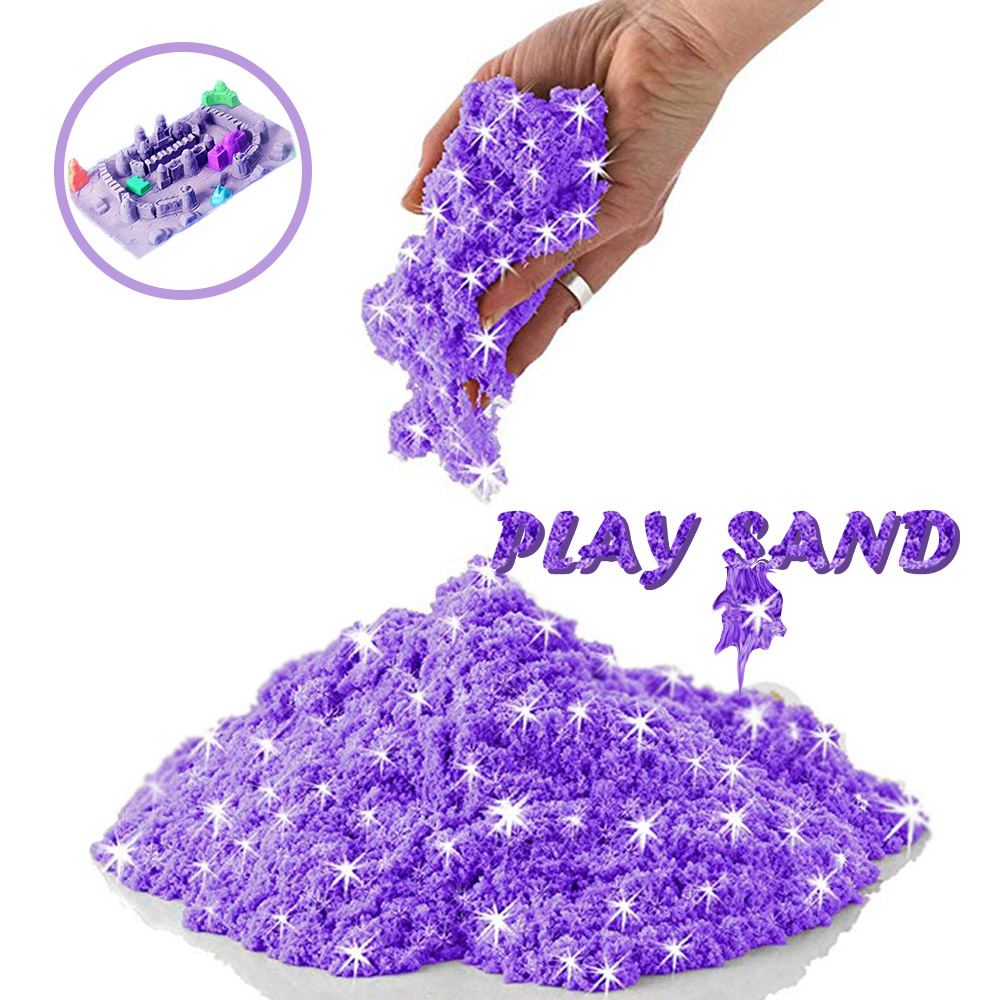 Magic Sand Toy Dynamic Glue For Slime Additives Lizun Polymer Clay Charms For Slime Supplies Play Sand Antistress Kids Toys