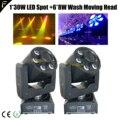 2 * портативный клуб бар сценический светодиодный движущаяся головка мульти эффект пятно мыть луч стробоскоп световое оборудование с DMX512 + к...