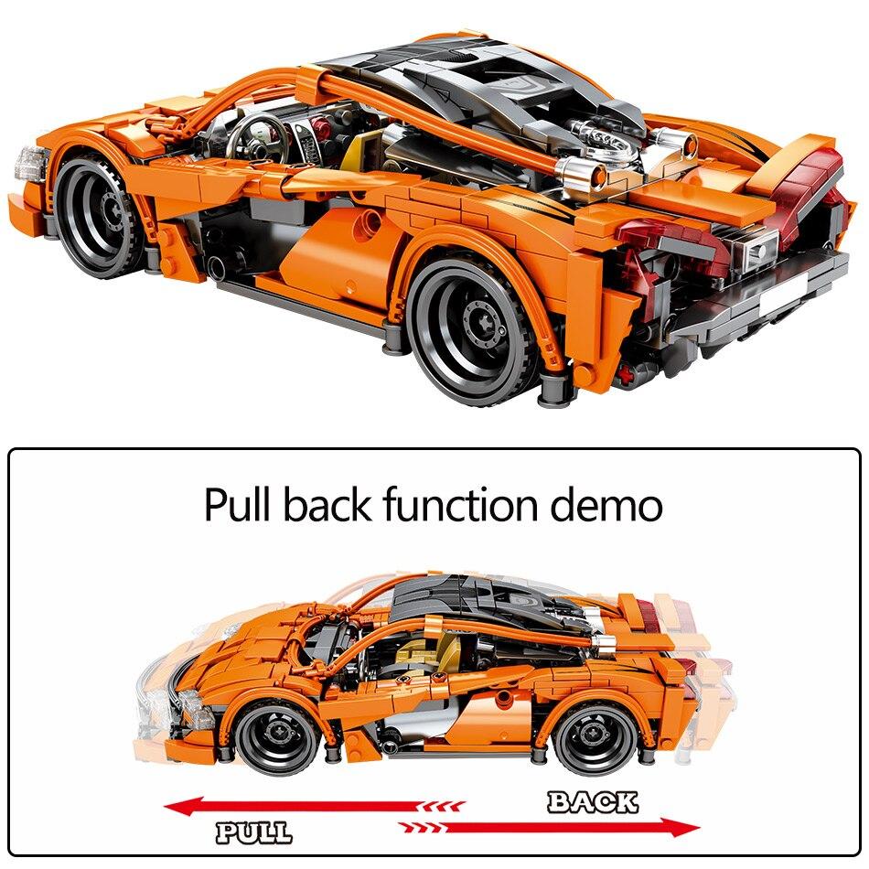 trás veículo blocos de construção técnica carro