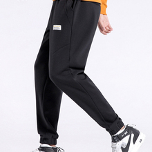 Joggers Sweatpants Men Pioneer Camp Loose Male Straight Men's Cotton New Black for Causal