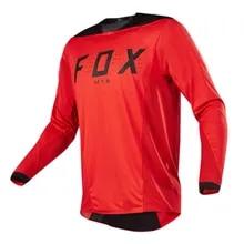 NEW 2021 Mtb Fox Jersey Motocross Cycling Off Road Dirt Bike Riding ATV MTB DH Racing Long Sleeve Shirt FXR Motorcycle Jersey