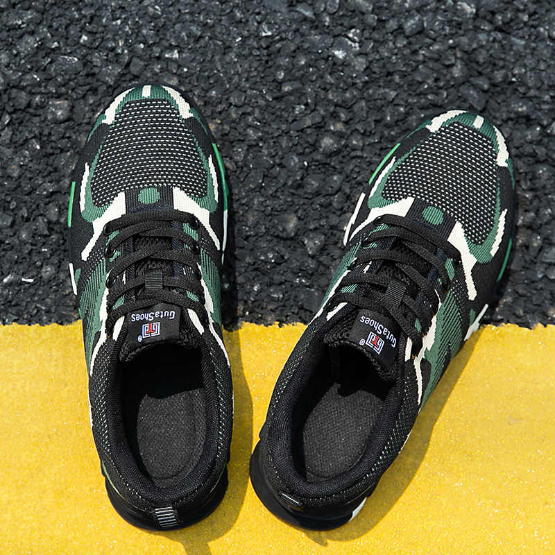 לעבוד נעלי גברים נשים קל משקל לנשימה הסוואה פלדה הבוהן כובעי בטיחות נעלי בלתי ניתן להריסה בנייה מגפיים
