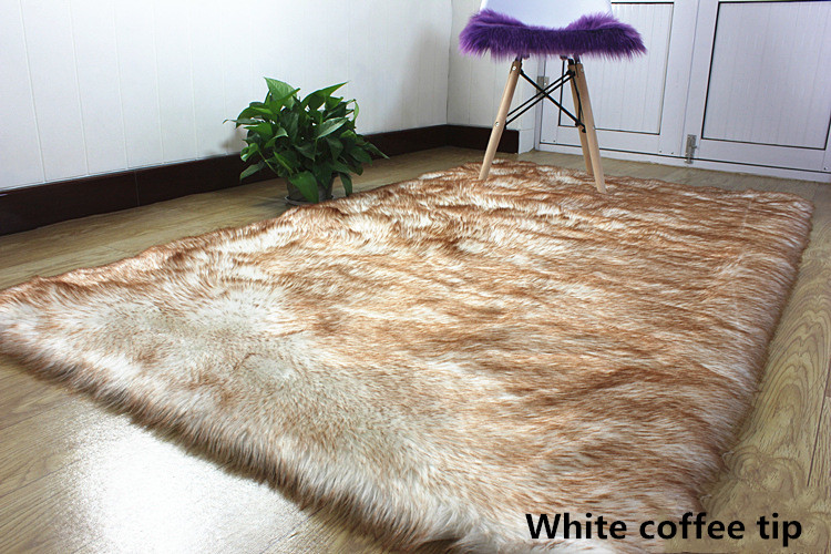 2 artificial wool large size long hair fluffy (5)