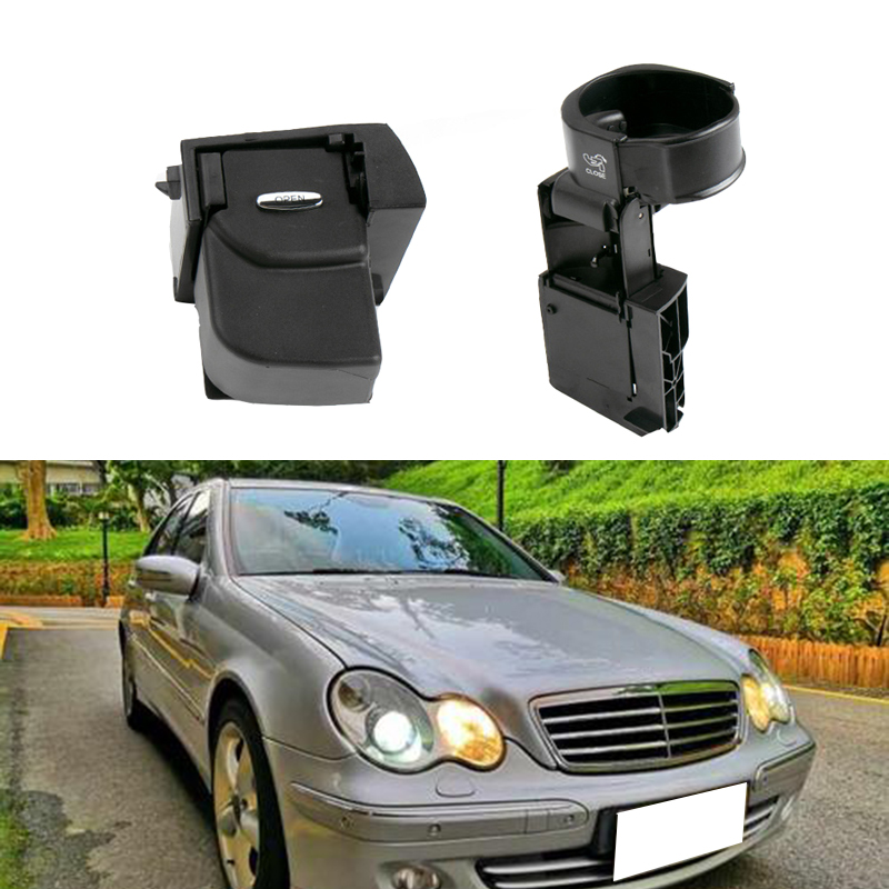 1pcs Car Water Cup Holder Center Console Cup Holder Replacement for Mercedes-Benz C-Class W203 Before 2007 Auto Accessorie