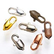 Застежка карабин для браслета зажим «сделай сам» цепочек ожерелий