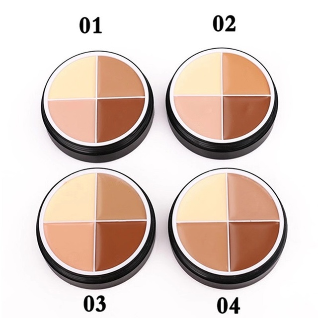 MENOW 4 colors Concealer Stick Foundation Makeup Full Coverage Contour Face Concealer Cream Base Primer Moisturizer Drop ship 2