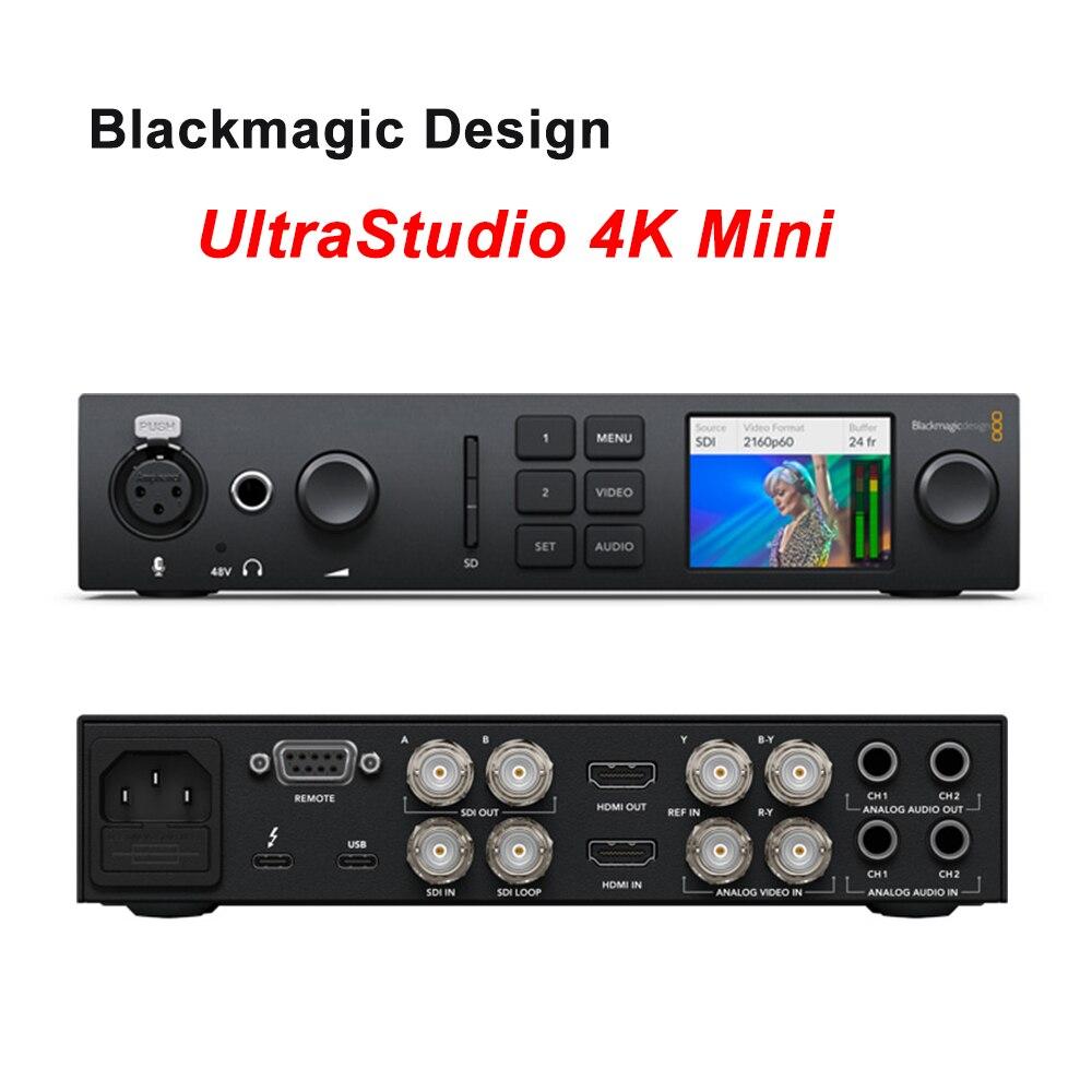 Dhl Blackmagic Ultrastudio Hd Mini Broadcast Switcher Capture Playback Device Ebay