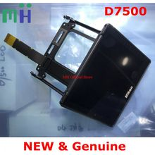 Frame Protector-Cover D7500 Lcd-Display-Screen Repair-Part Nikon NEW for with Lcd-Cable