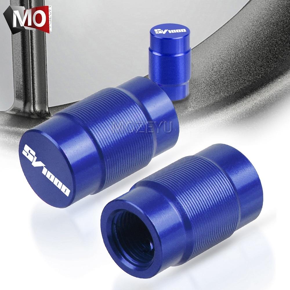 Колпачки на стержни клапана пневматического порта для мотоцикла с ЧПУ для автомобилей Suzuki SV1000 SV 1000 2003-2008 2004 2005 2006 2007