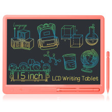 Big Size 15 Inch LCD Writing Tablet Wide Screen Memo Board Message Pad Educational Toys Business Notebook for Kids and Adults