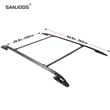 SANJODS Roof Rack Side Rails Cargo Carrier Top Universal Sport Utility 4-Door