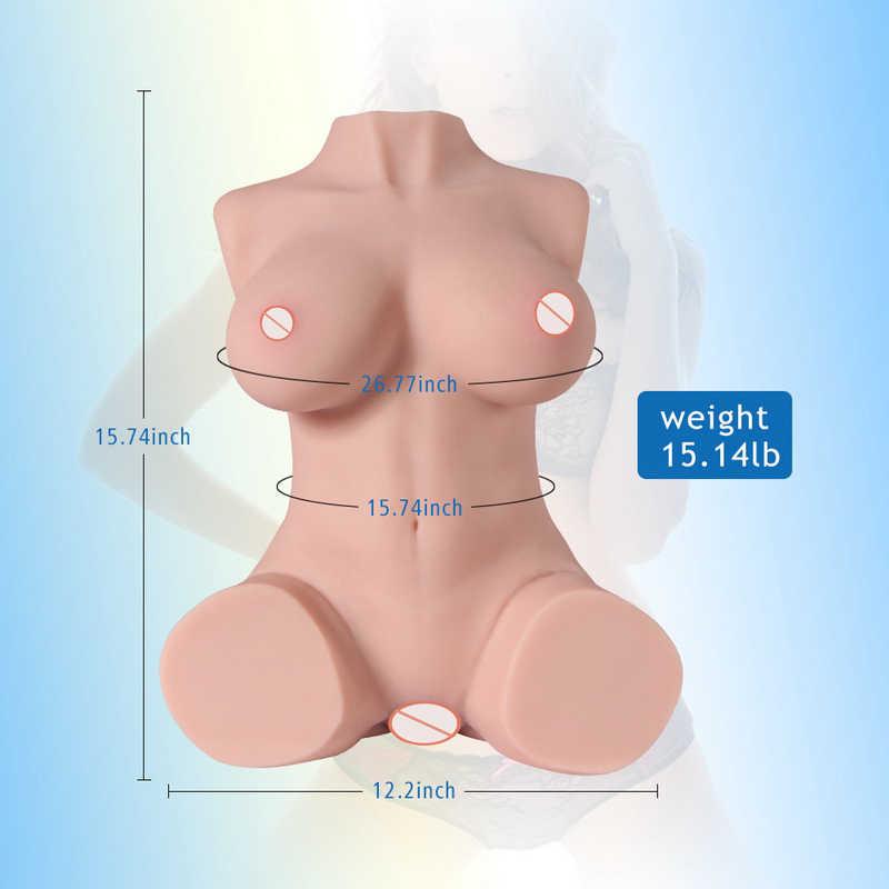 Sex Poppen Echte Siliconen Seksspeeltjes Werkelijkheid Grote Borsten Vagina Ass Masturbatie Mannelijke Volwassen Pop Metalen Skelet Sexy Body Sex suppli
