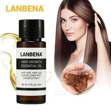 Lanbena эфирное масло для роста волос предотвращающее выпадение