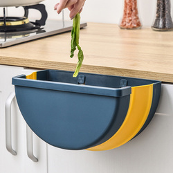 Szafka zamontowany kosz na śmieci składany kosz na śmieci może pojemnik na śmieci do kuchni łazienka TUE88|Kosze na śmieci|Dom i ogród -