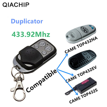 نسخة QIACHIP تأتي 433.92 ميجاهرتز وحدة تحكم عن بعد عالمية TOP432NA آلة نسخ باب المرآب بوابة فوب البعيد الاستنساخ 433 ميجاهرتز الارسال
