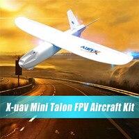 X uav Mini Talon EPO 1300mm Wingspan V tail FPV RC Model Remote Control Airplane Aircraft Kit/PNP RC Aircraft Toy for Children