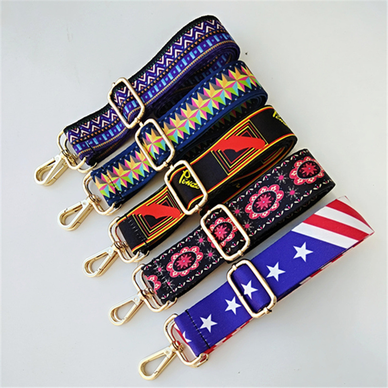 Bags Shoulder Straps Accessories Bag Straps Fashion Luxury Colorful Long Straps Adjustable Shoulder Messenger Bags Straps Obag