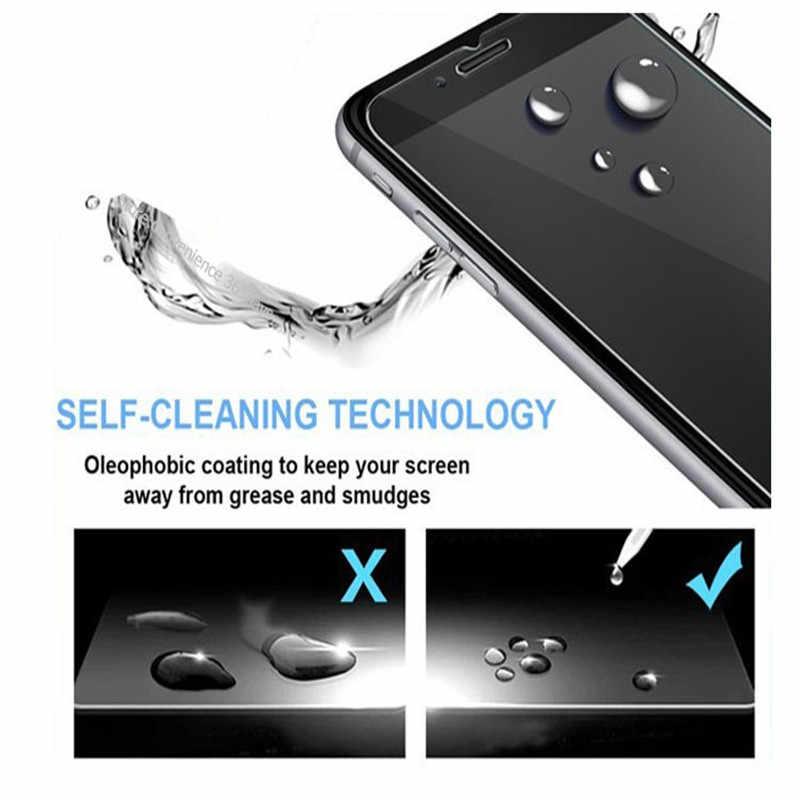Ulefone S7 S Tempered Kaca Ulefone X S10 Pro Pelindung Layar untuk Ulefone Baju Besi 6 X X2 X3 X5 5S 6S 6E 9H Pelindung Kaca Film