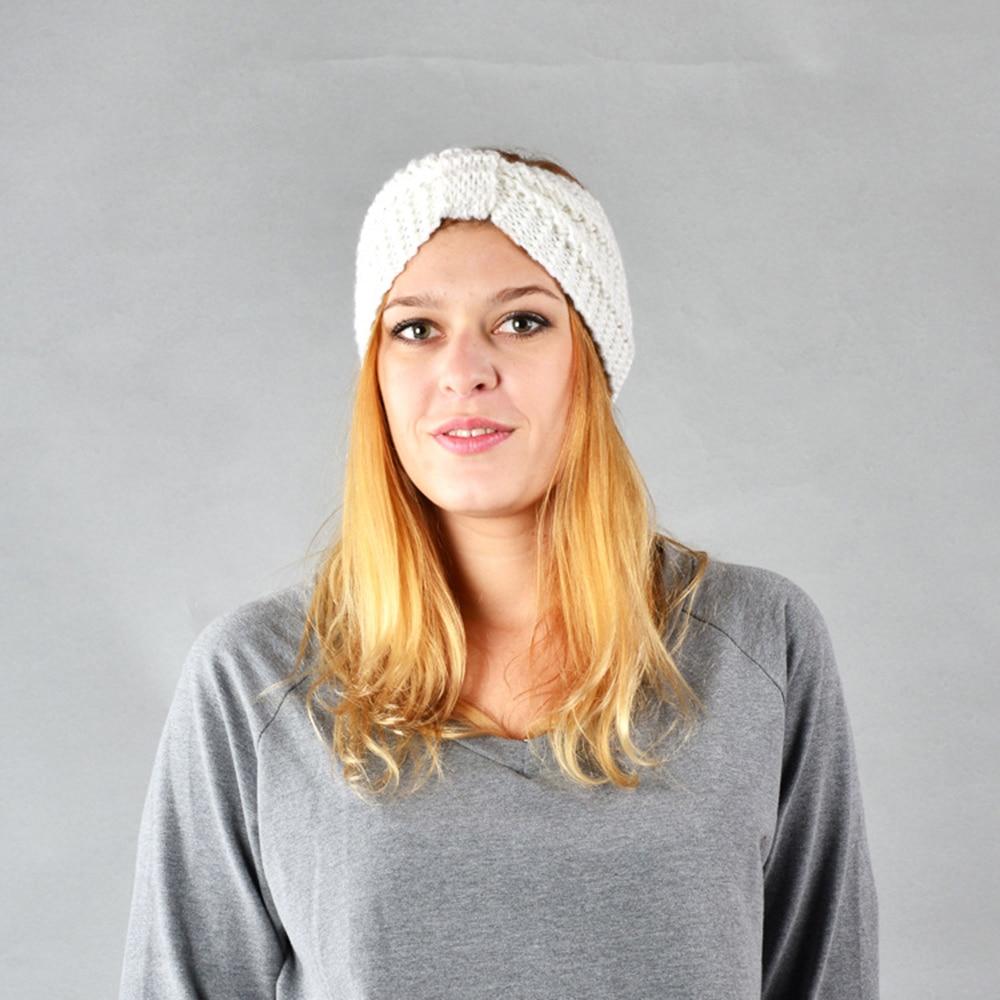 NIBESSER Fashion Snowboard Warm Knitted Cap Snap Skullies Bonnet Beanie No Top Wool Hat Women Multi-purpose Hat 21