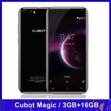 Cubot Magic 4G Smartphone Android 7.0 MTK6737 czterordzeniowy 3GB + 16GB 13,0 mp + 2,0 mp 5.0 cala HD 1280*720p telefon komórkowy