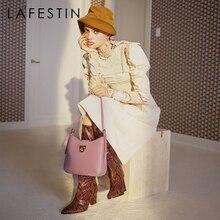LAFESTIN Bag women 2020 new trendy fashion underarm bag simple niche retro single shoulder messenger handbag